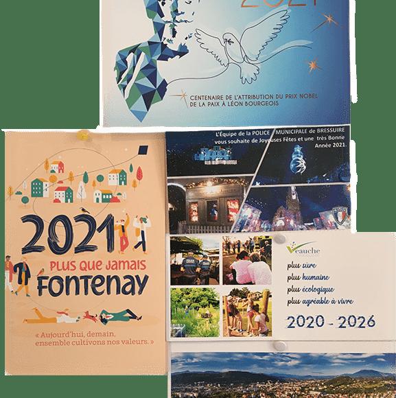 Carte vœux 2021 Logitud